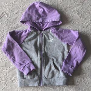 Puma Purple & Grey Sweatshirt * 4